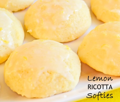 Lemon Ricotta Softies