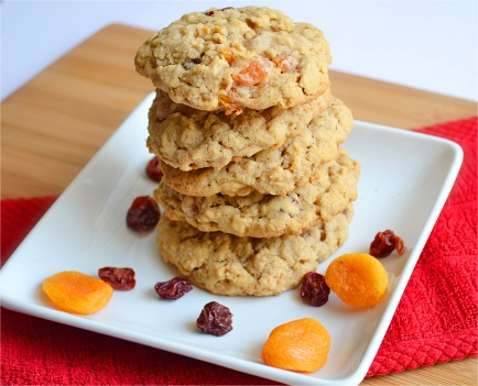 Cherry Apricot Cookies 2