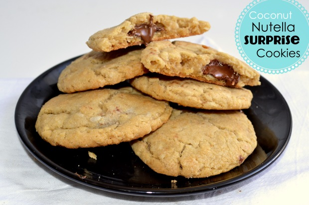 Coconut Nutella Cookies 4