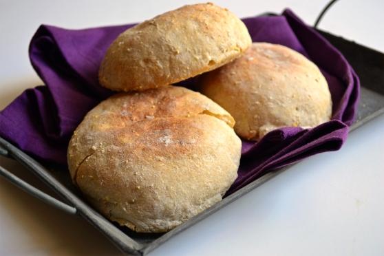 English Muffin Pile