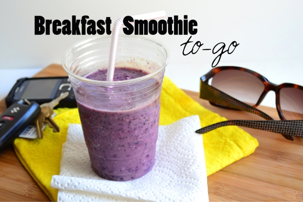 Breakfast Smoothie To Go
