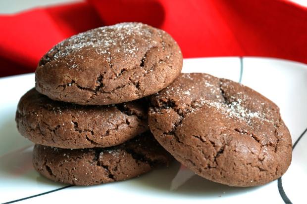 Chocolate snickerdoodles 2