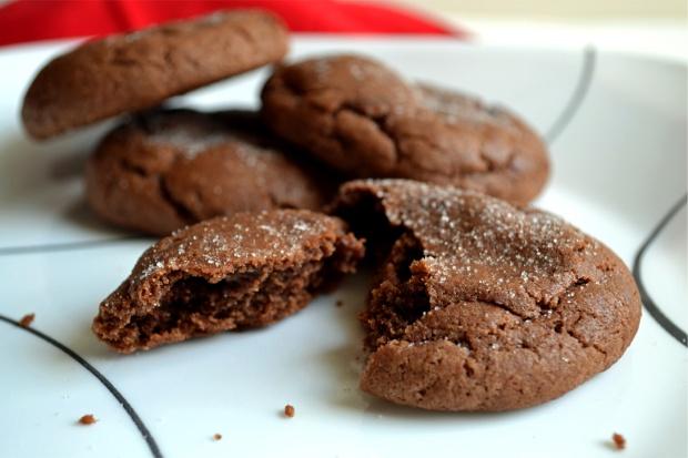 Chocolate snickerdoodles 3