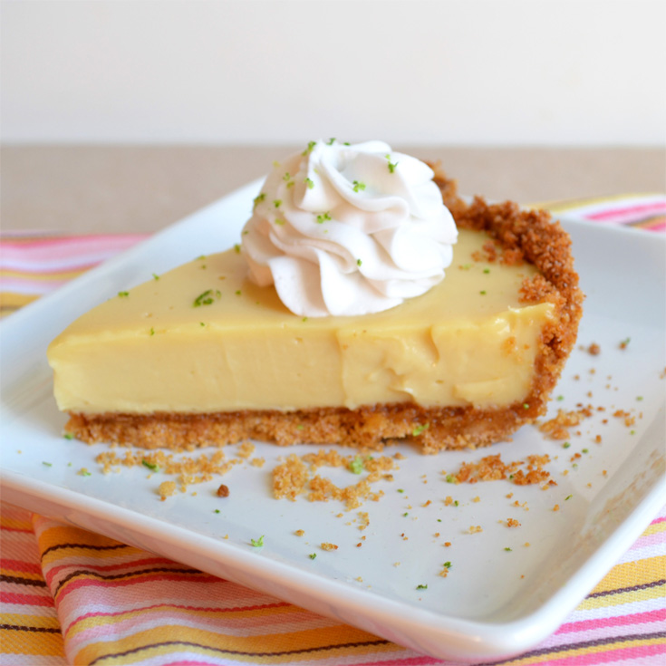 Not Exactly Key Lime Pie with Whipped Coconut Cream – baked by ...